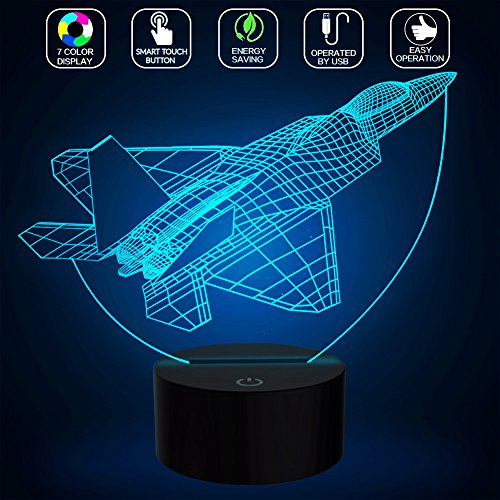 Kids Airplane Lamp - 5