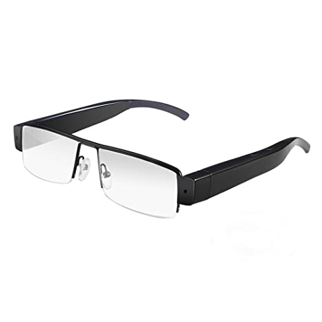 Mofek HD 1080p Telecamera Nascosta Occhiali Microcamere Spia Video Eyewear Videocamere DVR Pinhole Occhiali lBkD0m
