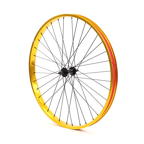 Set of Bicycle Rims (26x32mm; Front & Rear; Anodized Gold) by ZycleFix (Image #2)