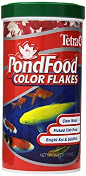 Tetra Pond Food Flaked Color Fish Food 6Ounce 1Liter 77021