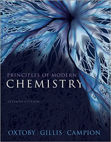 Bundle: Principles of Modern Chemistry, 7th + OWL eBook with ...