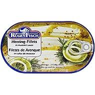 Rugen Fisch Herring Fillets in Mustard Sauce 7 oz (200 g) From Germany