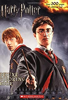 Harry Potter Deluxe Coloring Book Movies 1 6