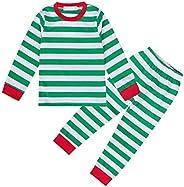 Kantenia Toddler Boys Pajamas Fire Truck 100% Cotton Kids Train 2 Piece Pjs Sets Sleepwear Clothes Set 1-7 T