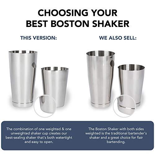 Küchenhelfer & Kochzubehör Flair bottle blau Elektro Boston Shaker 28oz