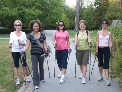 "Exerstrider OS 2 Adjustable Total Body ""Nordic"" Walking Poles with FREE Instructional Exercise DVD APPROVED for Physical Therapy, Designed for Portability, Walking, Exercising, and Weight Loss Great Cane or Walker Replacement World's #1 Total Body Nordic Walking Poles Since 1988"