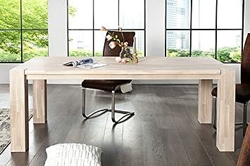 Casa Padrino Massivholz Esstisch Eiche 200 Cm Esszimmer Tisch