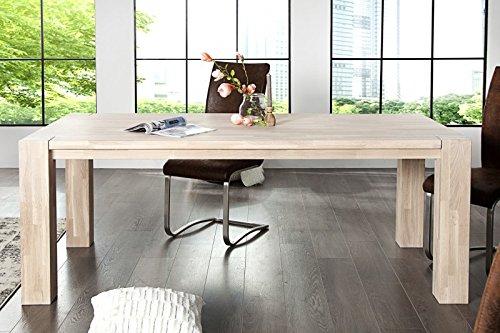 casa padrino massivholz esstisch eiche 200 cm esszimmer. Black Bedroom Furniture Sets. Home Design Ideas