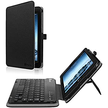 Fintie Sprint LG G Pad F2 8.0 Keyboard Case (Support Extra Battery Plus Pack), Folio Cover with Removable Wireless Bluetooth Keyboard for LG GPad F2 ...