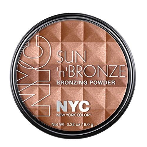 N.Y.C. New York Color Sun N' Bronze Bronzing Powder, Montauk Bronze, 0.42 (Bronze 1 Bronzing Powder)