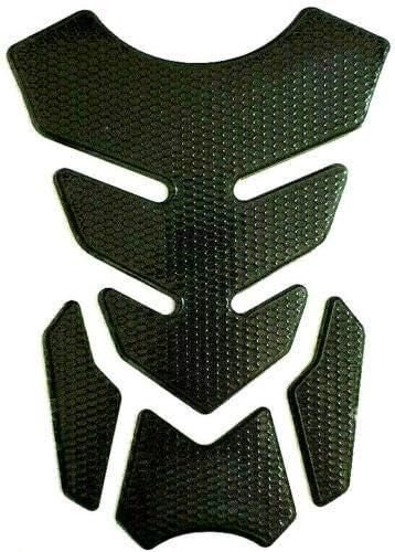 Protector de depósito, para motocicleta, aspecto de carbono, universal, color negro: Amazon.es: Coche y moto