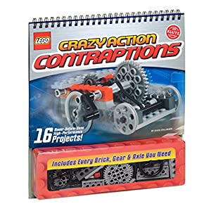 Klutz LEGO Crazy Action Contraptions Craft Kit - 51yFppyh7bL - Klutz LEGO Crazy Action Contraptions Craft Kit