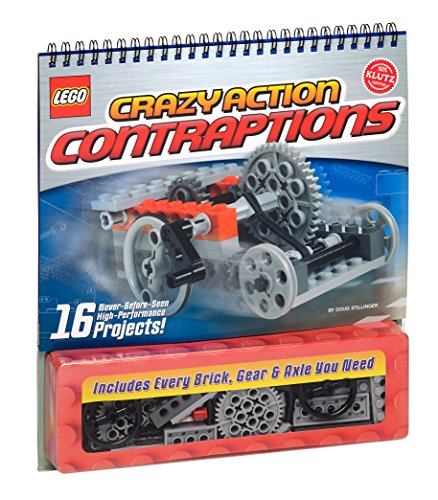 LEGO Crazy Action Contraptions Craft Kit by Klutz