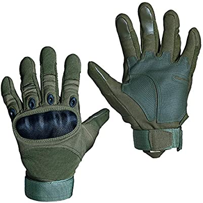 SMARCY Guantes Tácticos Militares para Hombres Dedo Completa para ...