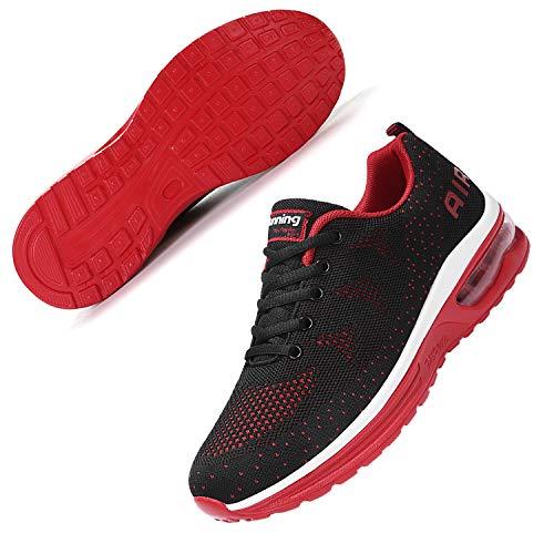 Amaxm Mens Athletic Running Breathable Sneakers