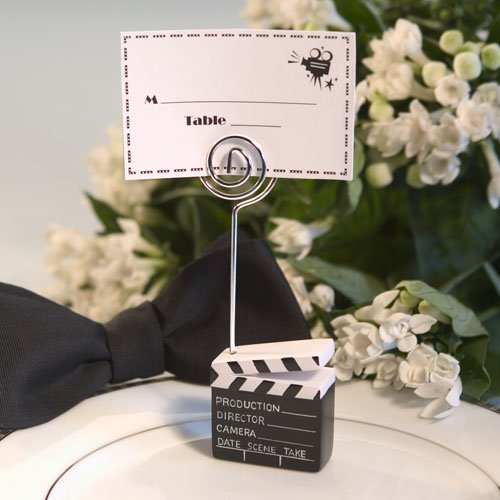 Clapboard Style Placecard Holder - 200 count by Fashioncraft