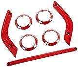 Genuine Jeep Accessories 82212939 Flame Red Trim Kit