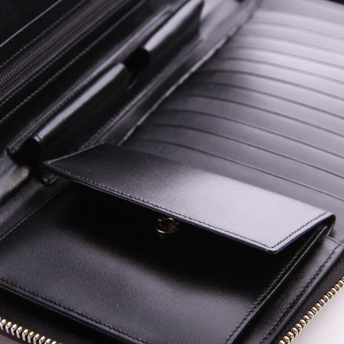 Mont Blanc Black Travel Currency Wallet (16352) by MONTBLANC (Image #6)