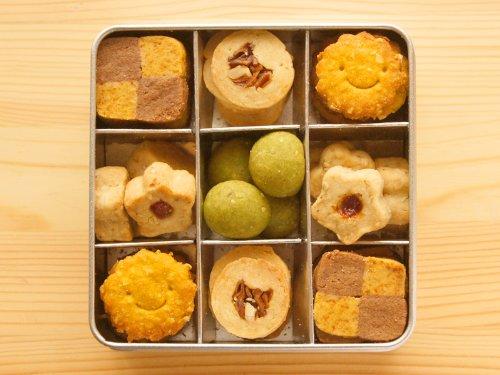 笑顔の無添加*野菜大豆粉クッキー/Happy☆ハッピー*Smileyクッキー缶♪