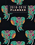 2018-2019 Planner: Elephants Weekly & Monthly Schedule Diary | Get Things Done At A Glance, High School, College, University, Home, Organizer Calendar ... July 2019 Timetable (Education) (Volume 24)