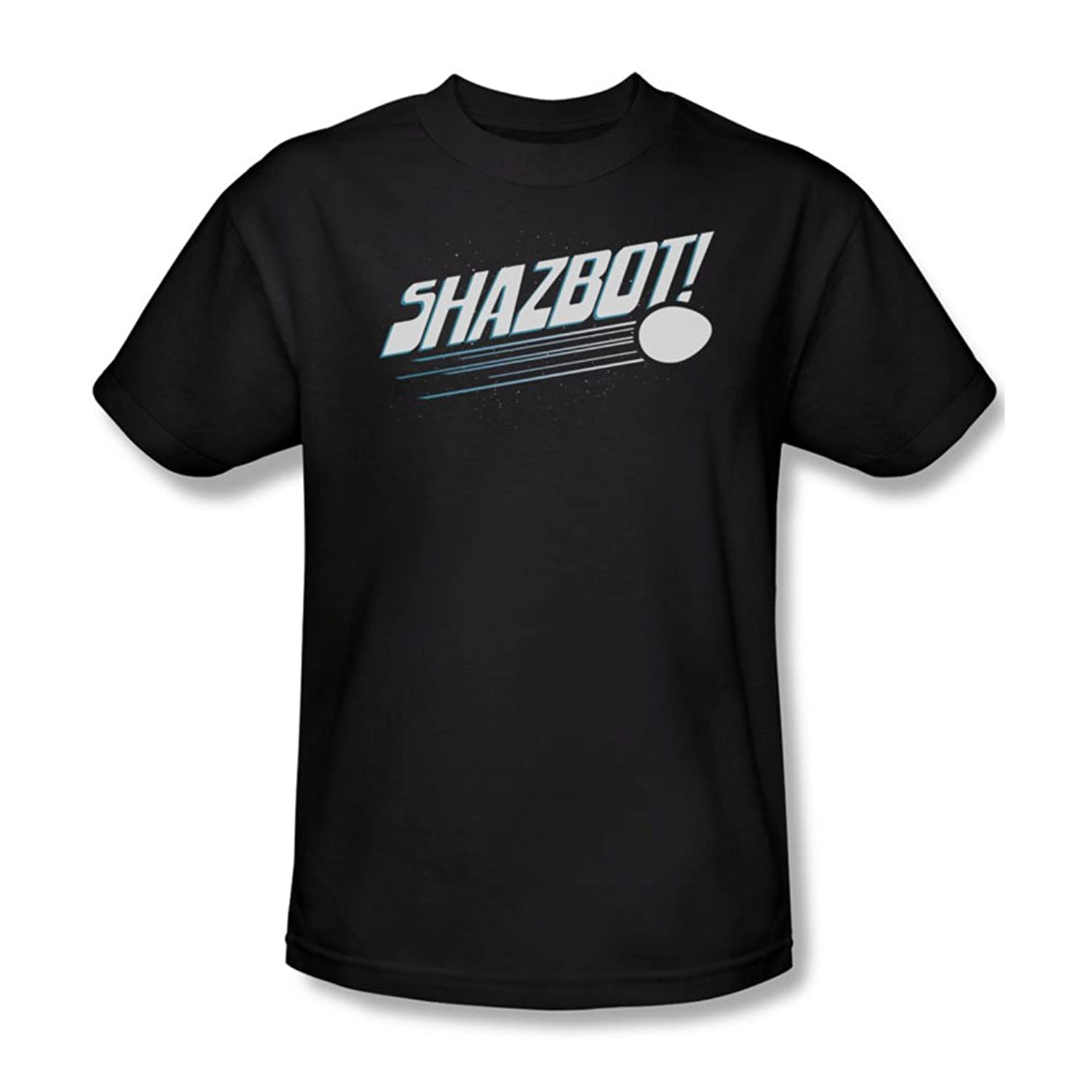 Mork & Mindy - Mens Shazbot Egg T-Shirt In Black