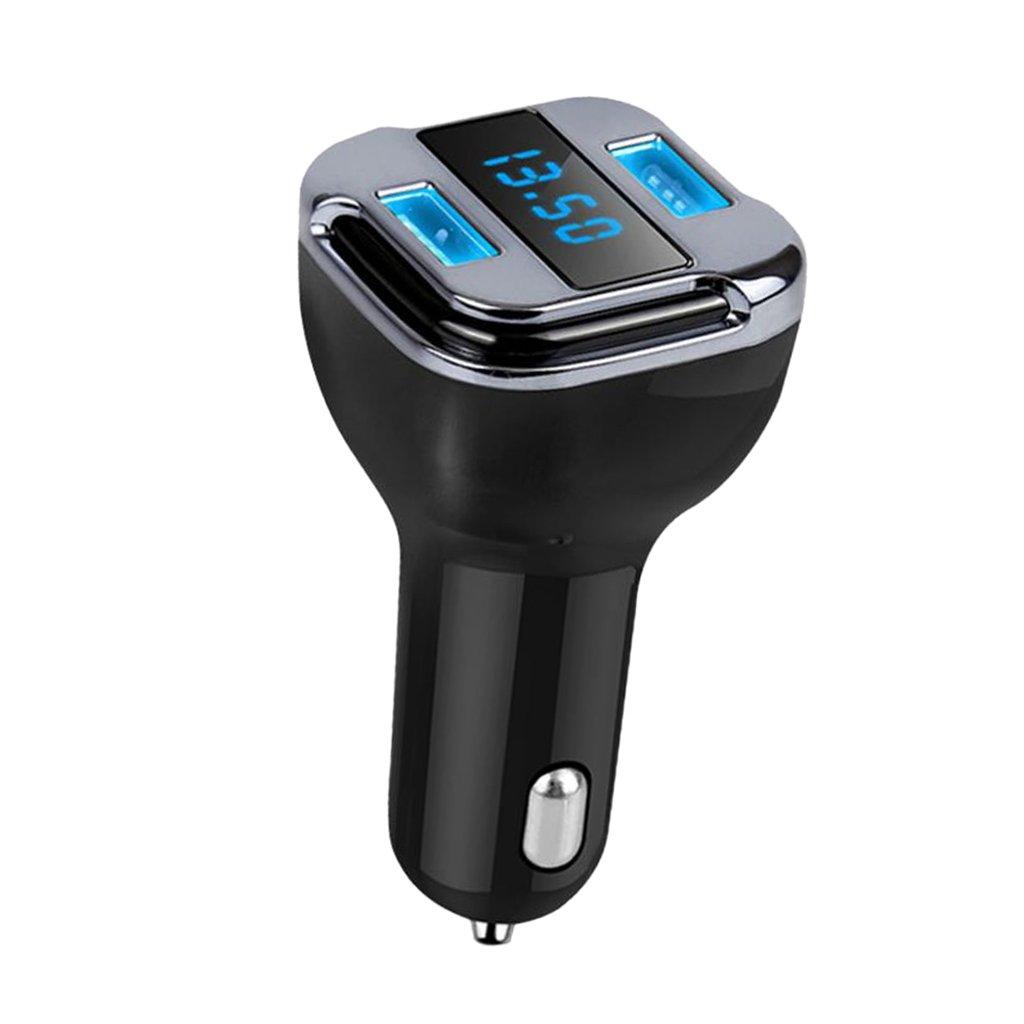 MagiDeal LED Mini Dual USB Car Charger Real Time Smart GPS Tracker Locator Universal