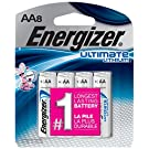 Energizer Ultimate Lithium AA Batteries, 8 Count (L91SBP-8)