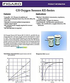 FIGARO KE-25 KE25 GS Oxygen Sensor New Japan
