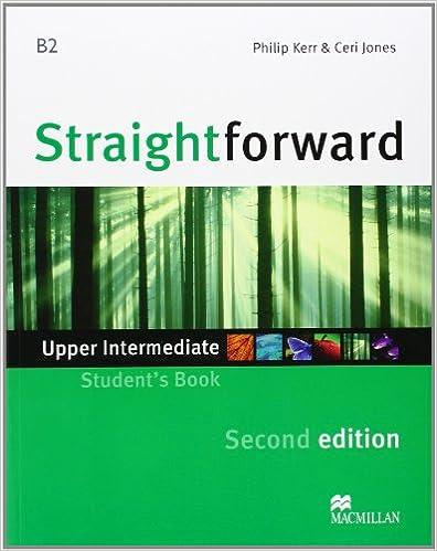 Straightforward Upper Intermediate Student's Book with Class Audio CDs 2nd edition