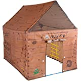 """Pacific Play Tents Kids Club House Tent Playhouse for Indoor / Outdoor Fun - 50"""" x 40"""" x 50"""""""