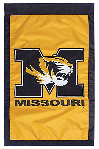 University of Missouri - 28'' x 44'' Double Sided Appliqued NCAA Banner by Flagline (Image #1)
