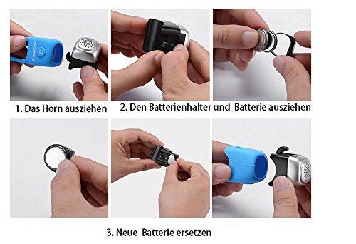 ROCKBROS Timbre Electrónico para Bicicleta 75dB Mini E-Bell ...