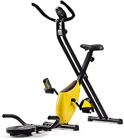 DRLGC Bicicleta Estática Plegable, Control Magnético, Mini ...