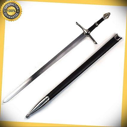 ARAGORN SWORD Irish Ring Hilt Celtic Medieval Crusader Sword