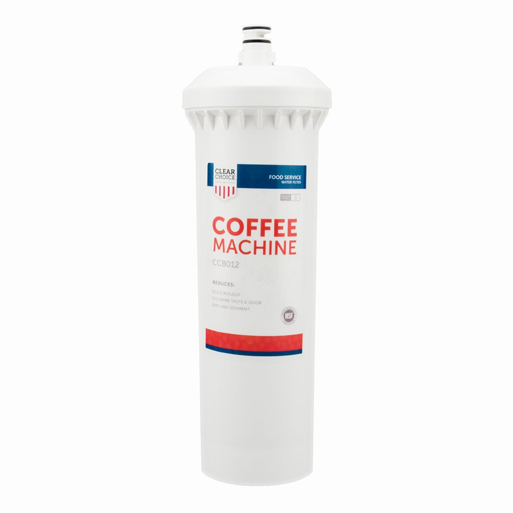 Clear Choice Coffee, Tea Filtration System Replacement Cartridge for CUNO 55600-01 55600-09 AP500 AP510 AP51706 AP522 CFS517 CS-61 Also Compatible with 3M 70020015189 70020041458 70020041466, 1-Pack