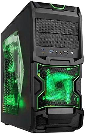 Alantik C10067 Torre Negro Carcasa de Ordenador - Caja de ...