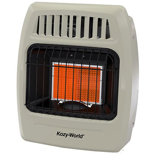 WORLD MKTG OF AMERICA/IMPORT KWP210 1 Plaque 6000 BTU Gas Wall Heater by World Marketing of America