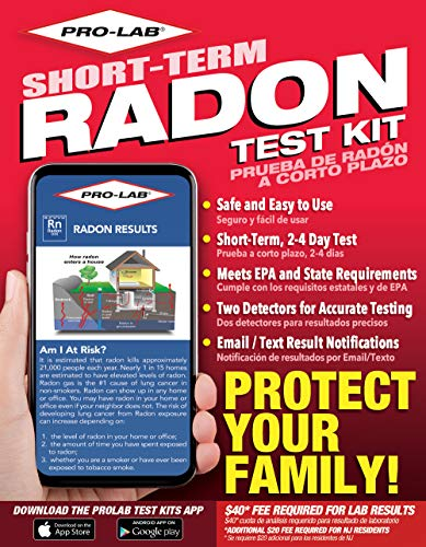 PRO-LAB Radon Test Kit