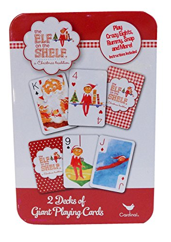 The Elf on The Shelf 2 Decks of Giant Playing Cards