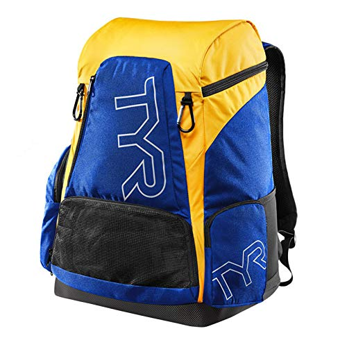 TYR Alliance Backpack, Royal/Gold, 45 L