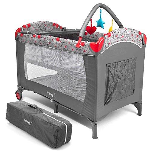 Froggy® Kinderreisebett CPL02 Grau
