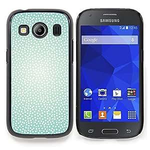 Stuss Case / Funda Carcasa protectora - Blanco Trullo puntos brillantes de Sun del verano caliente - Samsung Galaxy Ace Style LTE/ G357