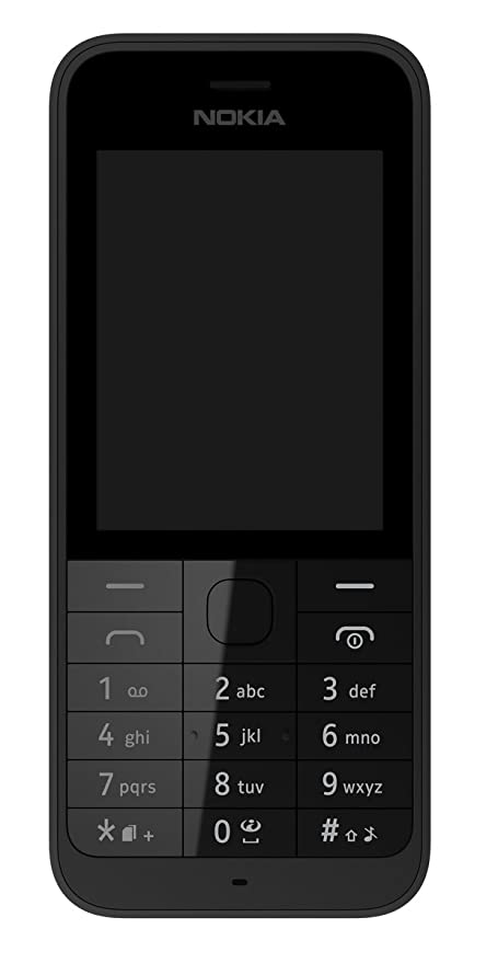 0ec8e52d5 Nokia Asha 220 2.4 inch Sim Free Mobile Phone - Black  Amazon.co.uk   Electronics