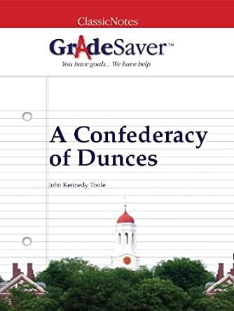 confederacy of dunces essays Set in new orleans, a confederacy of dunces outswifts swift, one of whose essays gives the book its title  the comments to book a confederacy of dunces epub.