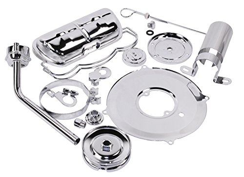 EMPI 00-8742-0 Complete Chrome Dress Up Kit, VW Bug, Buggy, Sand Rail