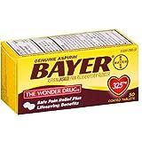 Bayer Genuine Aspirin Coated Tablets, 325 mg, 50 ea (Pack of 10)