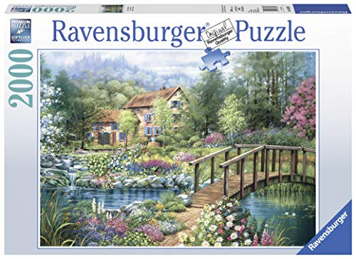Ravensburger Shades of Summer 2,000 Piece Jigsaw Puzzle for Adults - Softclick Technology Means Pieces Fit Together Perfectly