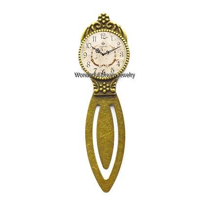 PU120 - Reloj de pulsera hecho a mano, diseño retro, cristal ...