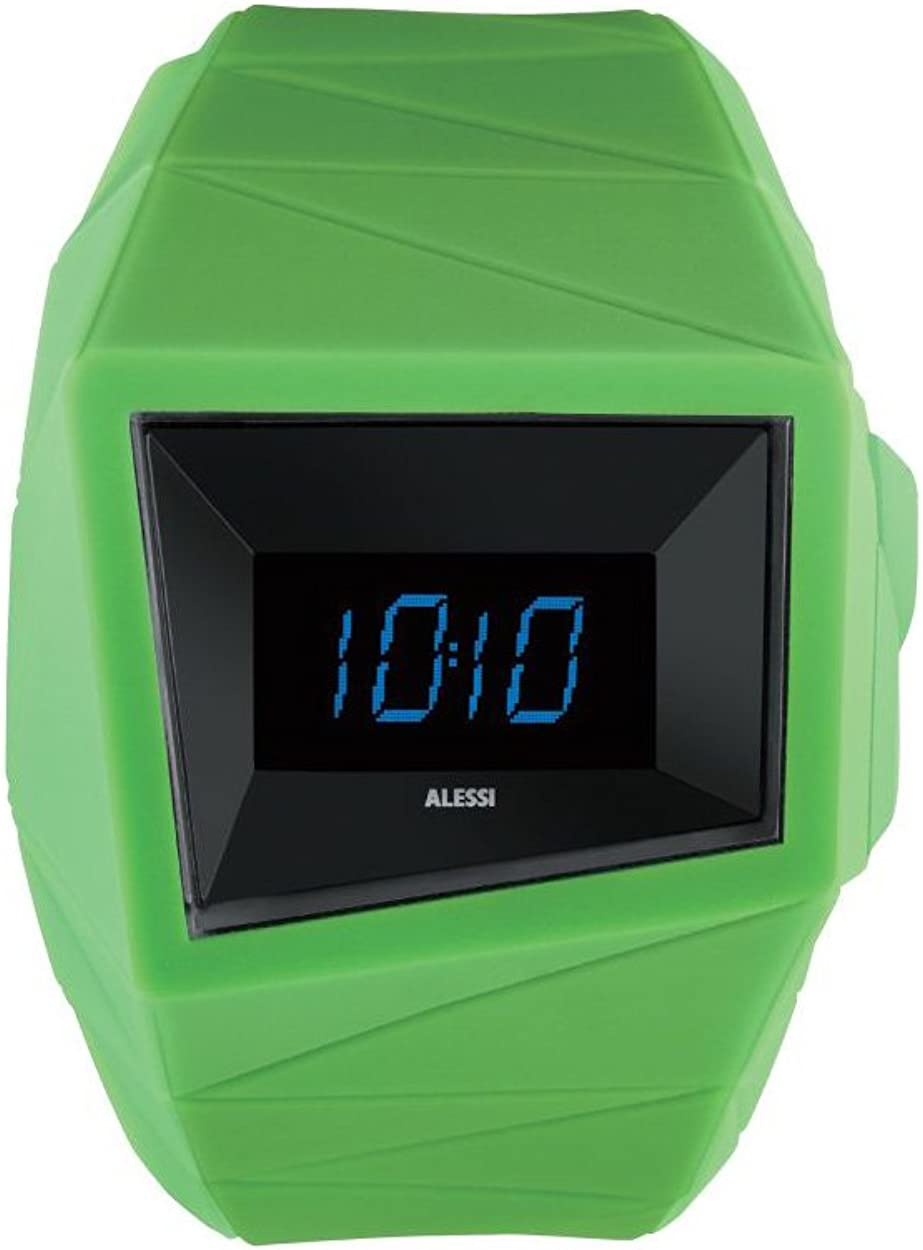 Alessi Men s AL22002 Daytimer Polyurethane Green Designed by Federico Grazzini William Alsop Watch