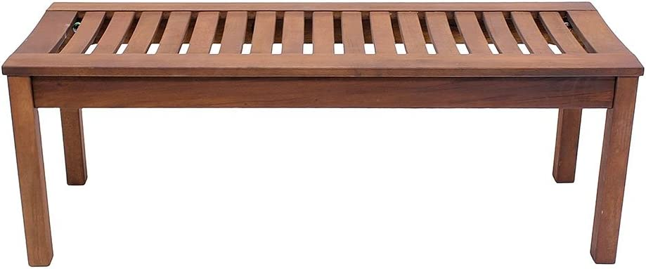 Achla Designs Backless Bench, 4-Foot – OFB-08